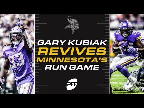 Vikings Blog - VIDEO: Solomon's Wisdom - Kubiak revives the Vikings run game | PFF