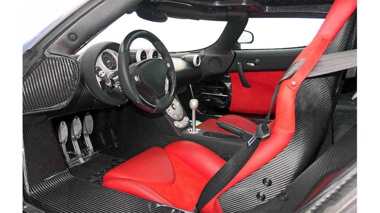 Koenigsegg Ccx Interior Youtube