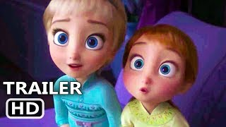 FROZEN 2 Trailer # 3 (NEW 2019) Baby Elsa & Anna, Disney HD