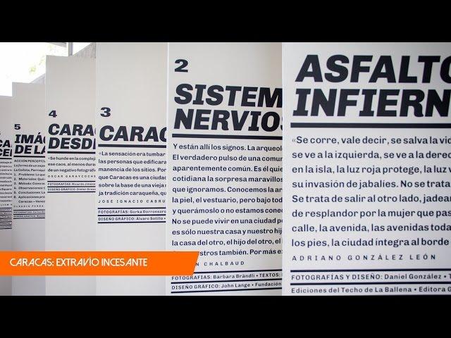CARACAS: EXTRAVÍO INCESANTE. 7 fotolibros, 1 ciudad.
