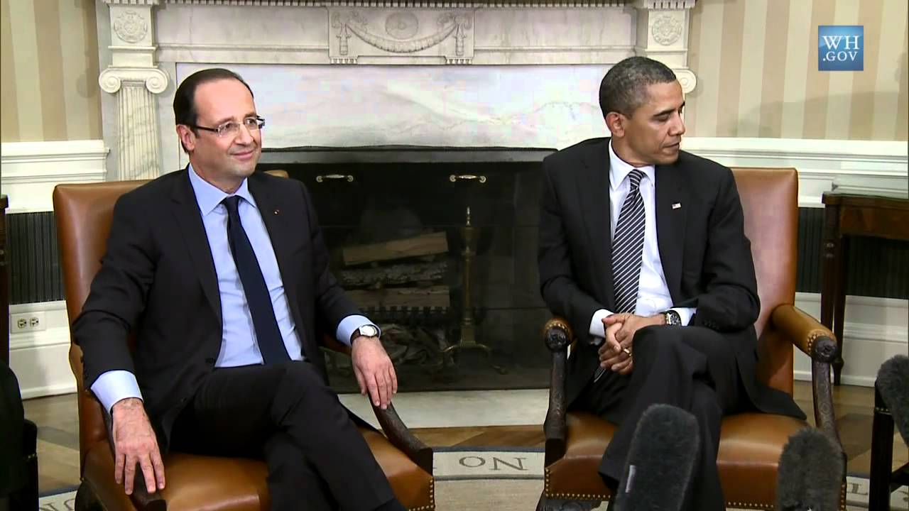 Francois Illas New Tradition: President Obama's Bilateral Meeting With President