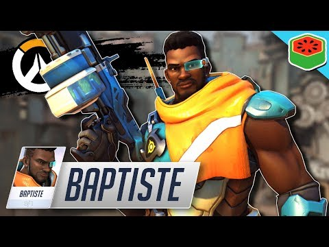 BAPTISTE - *NEW* DPS Support Gameplay!   Overwatch thumbnail