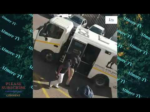 Armed Robbers Caught On CCTV In SOUTH AFRICA