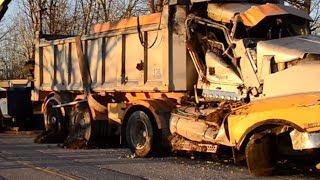 Dump Truck Rollover - Milton, Ontario