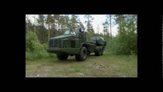 Archer Artillery System with Volvo A30E chassis