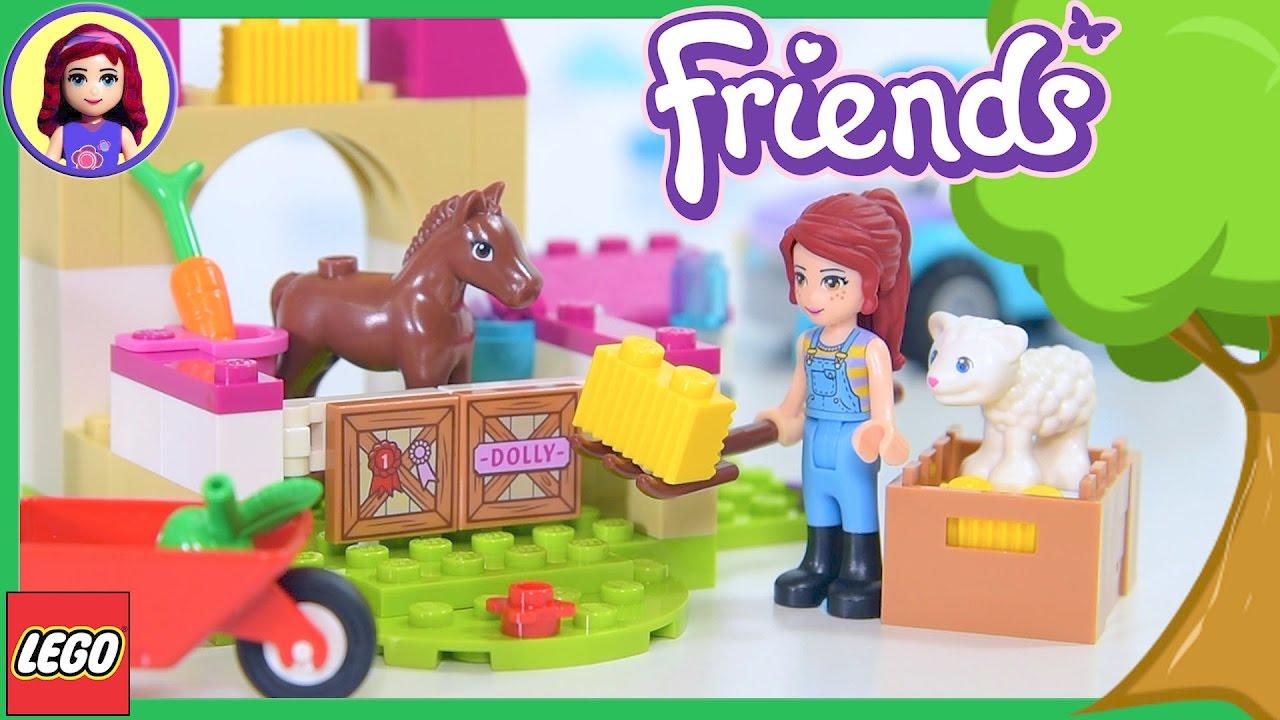 Lego Friends Juniors Mias Farm Suitcase Build Review Silly Play
