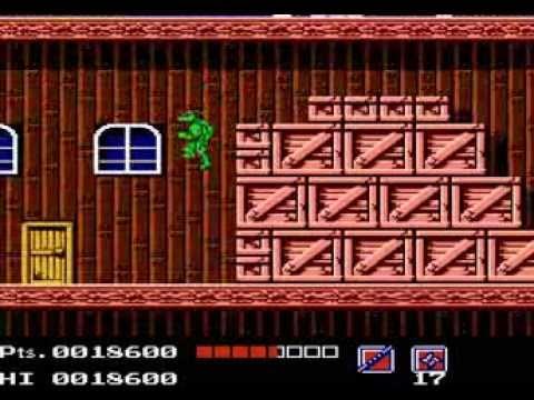 Архив видео от Казановы №6 - TMNT (NES) Черепашки ниндзя