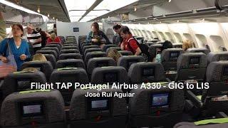 Flight TAP Portugal Airbus A330 Rio de Janeiro GIG to Lisbon LIS Turbulence Area