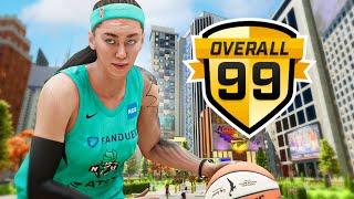 FIRST EVER 99 OVR FEMALE MYPLAYER ON NBA 2K21 NEXT GEN...
