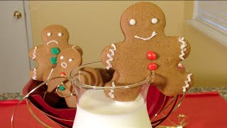 How To Make Gingerbread Man Cookies-holiday Food Recipes