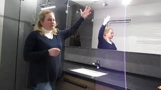 видео Зеркала для ванной комнаты