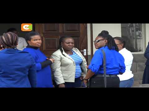 Moi Girls Form Four students report back to school