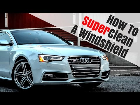 HOW TO CLEAN YOUR WINDSHIELD LIKE A PRO !!!