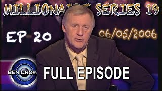 Who Wants to be a Millionaire Series 19 Episode 20 6th May 2006