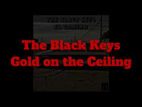 The Black Keys - Gold on the Ceiling (guitar backing track)