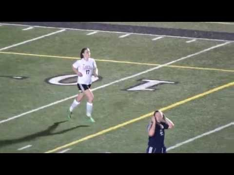 Tuscola's #17 Jr  Ashley Weidlich Goal Va Enka HS 3-11-15