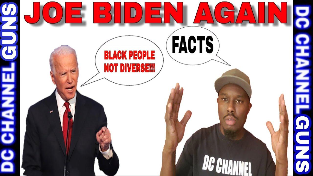 #Joe Biden Says All #Black People Think The Same #Politically ( #ELECTION)   GUNS