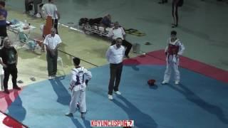 53kg Oguz Tokgoz vs Emirhan Oruc (2017 Turkish Cadet TKD Championships)
