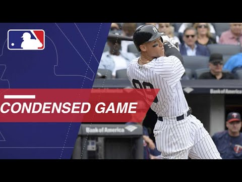 Condensed Game: MIN@NYY 9/20/17