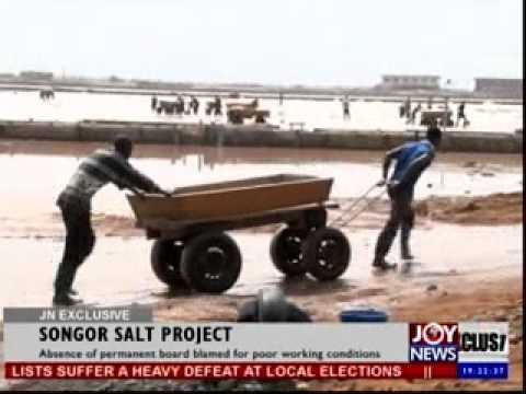 Songor salt project -  Joynews exclusive (9- 4- 14)