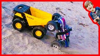 RC Monster Trucks and Toy Trucks Favorites Compilation