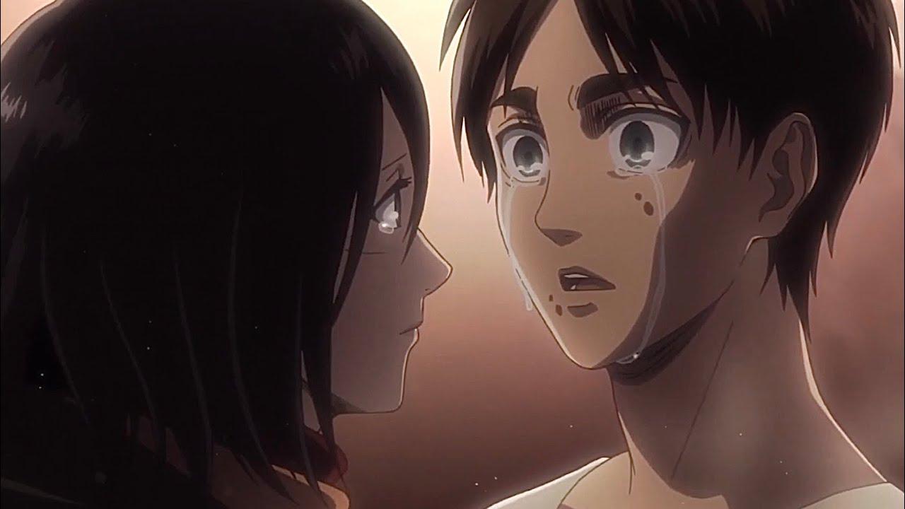 Eren feelings/caring moments to Mikasa