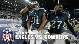 Eagles vs. Cowboys (Week 9) | Jordan Matthews vs. Dez Bryant Mini Replay | NFL