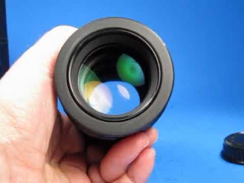 Checking A Vivitar Series 1 105mm F2 5 Macro Lens