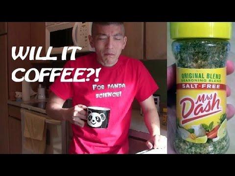 Mrs. Dash Coffee | Will It Coffee?
