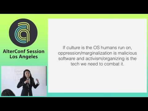 Alter Conf Los Angeles 2015 - Learning from Gay Straight Alliances to Diversify Tech by Ash López