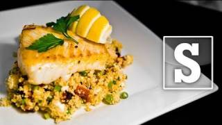 SURF N TURF COUSCOUS RECIPE - SORTED LIVE