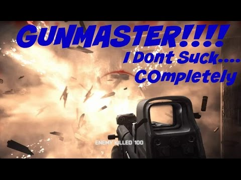 Battlefield 4 Gunmaster! Turns out I don't (completely) Suck!
