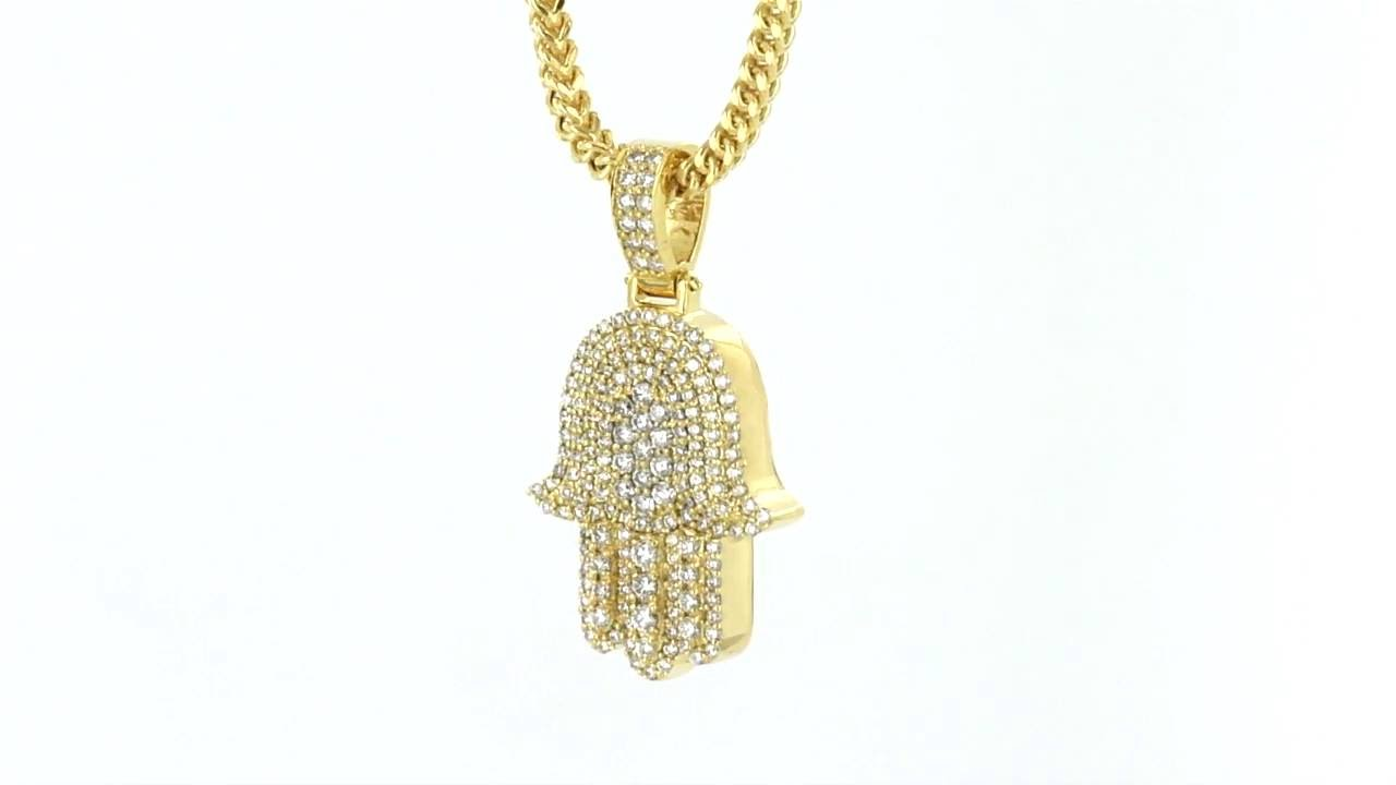 14k real gold hamsa hand hebrew pendant genuine diamonds item no 14k real gold hamsa hand hebrew pendant genuine diamonds item no 5628 youtube mozeypictures Image collections