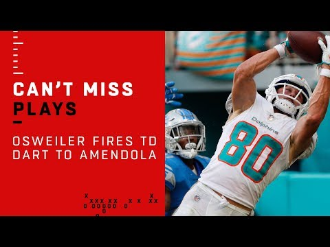 Brock Osweiler Rolls Out & Fires TD Dart to Danny Amendola