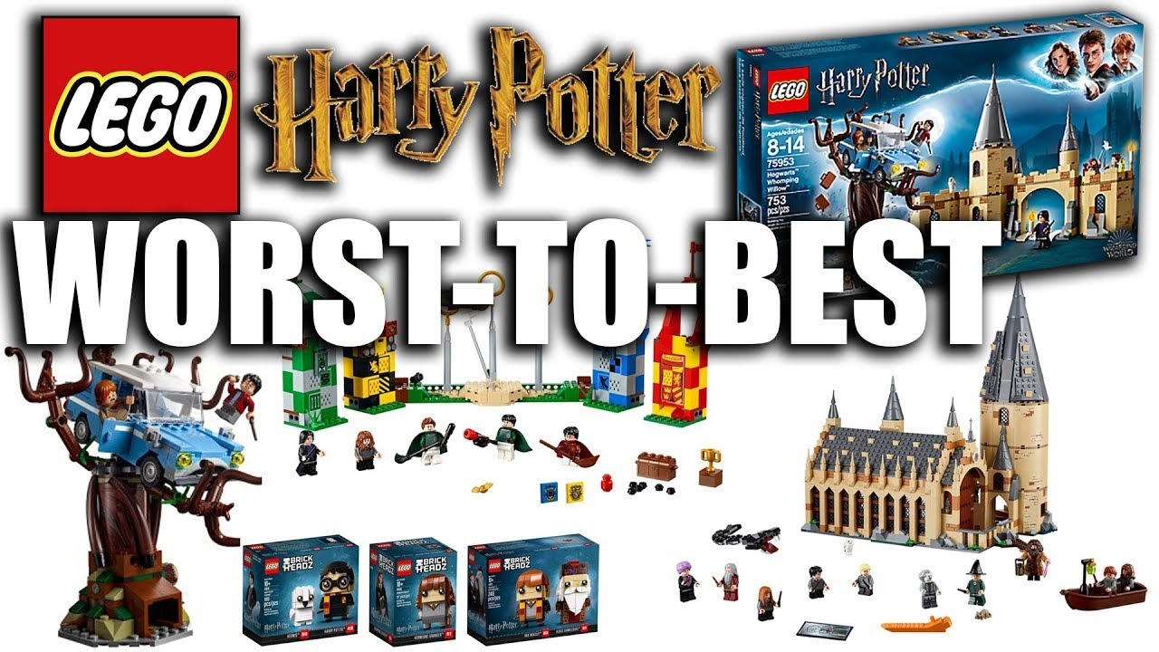 New 2018 Lego Harry Potter Sets Ranked Worst To Best