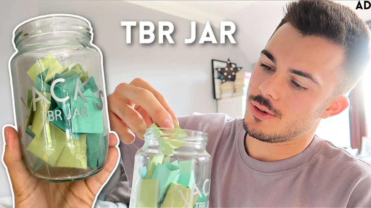 i made a TBR jar to pick which book to read (and then read it)