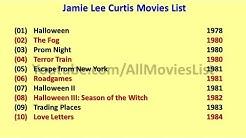 Jamie Lee Curtis Movies List