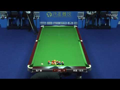 Corey Deuel VS Zhang Guanghao - 2017 World Chinese 8 Ball Masters Grand Final