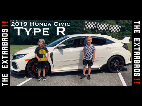 The ExtraBros 2019 Honda Civic Type R WALK AROUND REVIEW! 😱