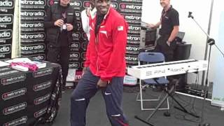 Bernard Lagat   Athletes can dance