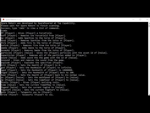 roblox commands hack