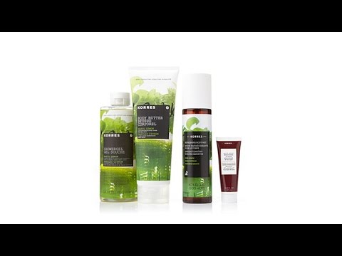 Korres Hydrate, Soften   Refresh Trio  Bergamot Pear