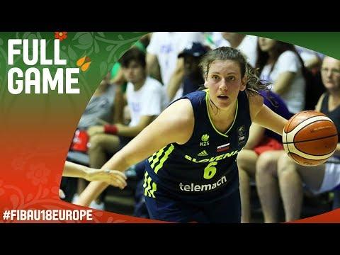Italy v Slovenia - Full Game - Round of 16 - FIBA U18 Women's European Championship 2017