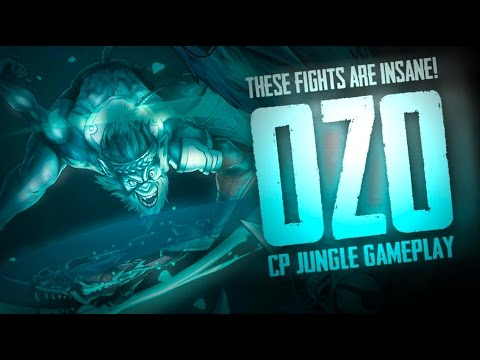 Vainglory Gameplay - Episode 257: INSANE FIGHTS! Ozo |CP| Jungle Gameplay  [1.24]