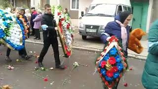 Похороны Даниила Бирюкова в Железногорске