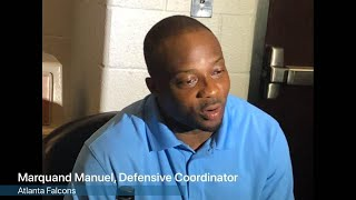 Watch: Marquand Manuel on how to improve the defense