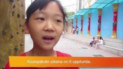 Kiinalainen koulu lasten silmin