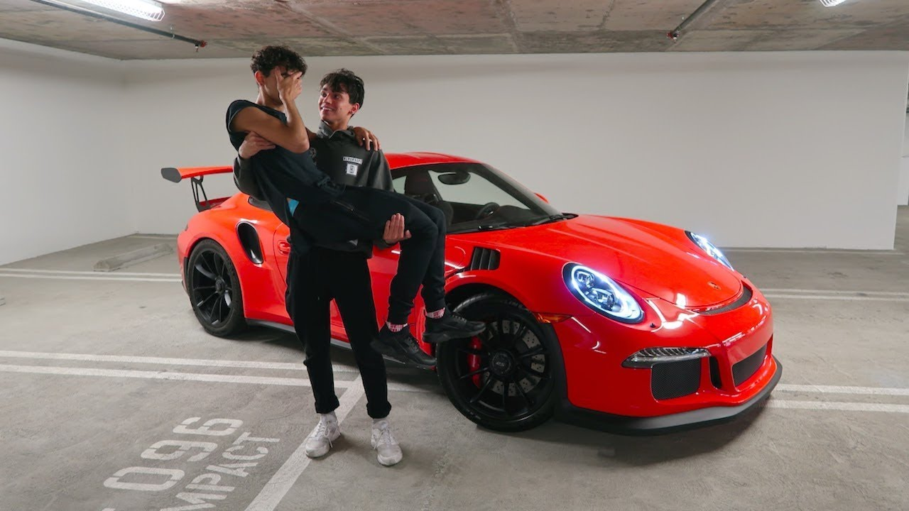 HE ACTUALLY BOUGHT ME MY DREAM CAR