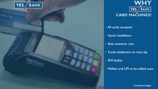 Customers today are preferring to use debit or credit card for their purchases, instead of cash. therefore, it makes business sense you get machi...