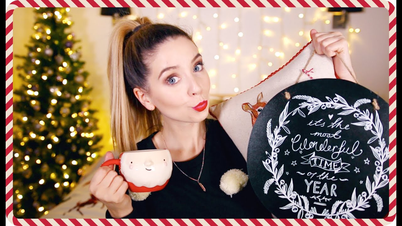 Christmas gift ideas zoella without makeup